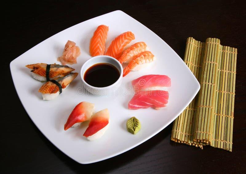 Sushi mix royalty free stock images