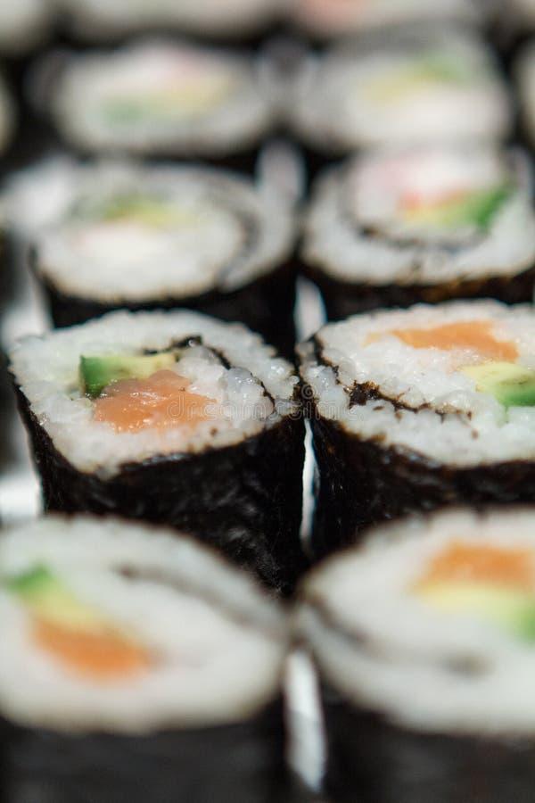 Sushi-Nahaufnahme stockbild