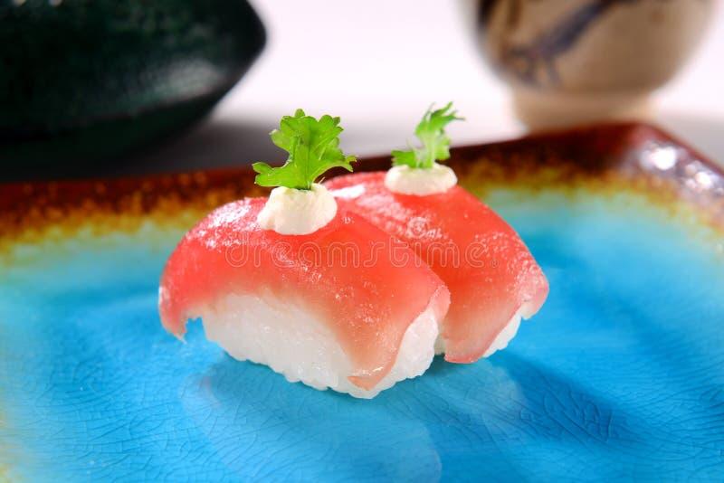 Sushi Nigiri royaltyfri foto