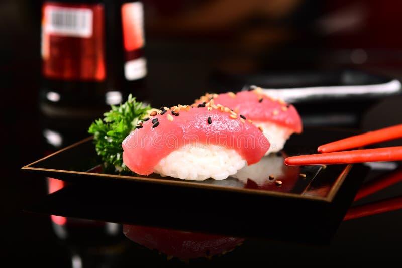 Sushi Nigiri royaltyfri fotografi