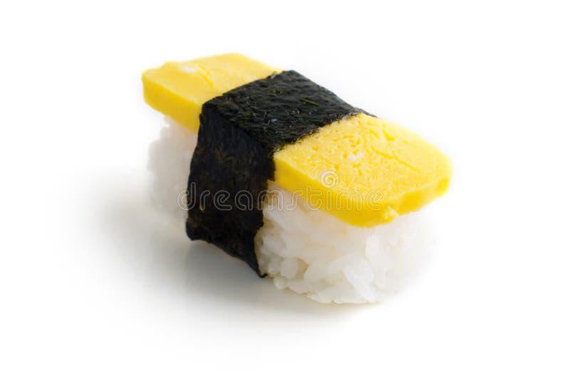 Sushi-Omelett (Tamago Yaki) stockfoto