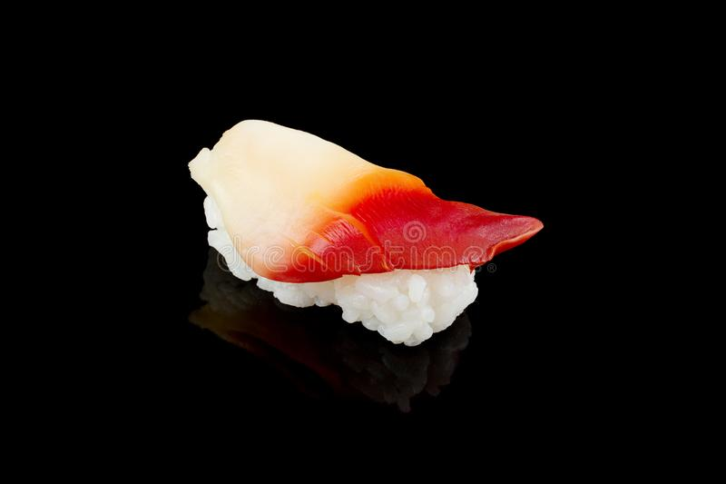 Sushi ou ressac Clam Sushi de Nigiri photos stock