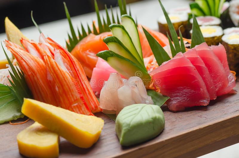 Sushi Platter stock photography