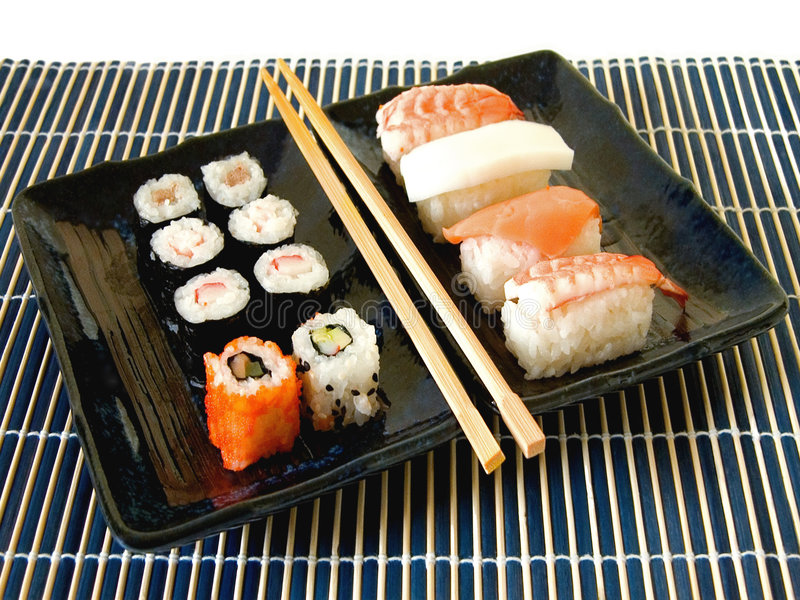 Sushi Platter Meal Stock Image