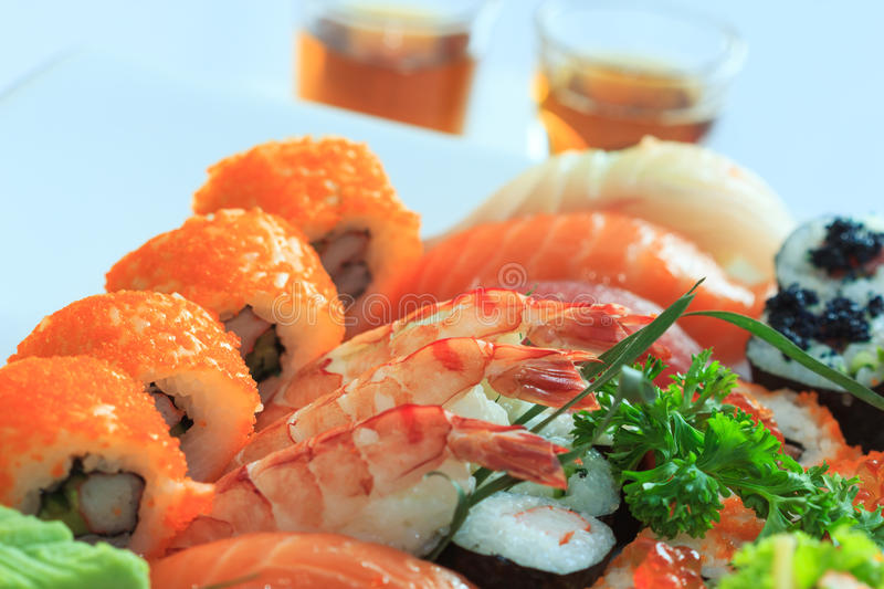 Sushi stock image image of asia california cuisine for Fish and rice diet