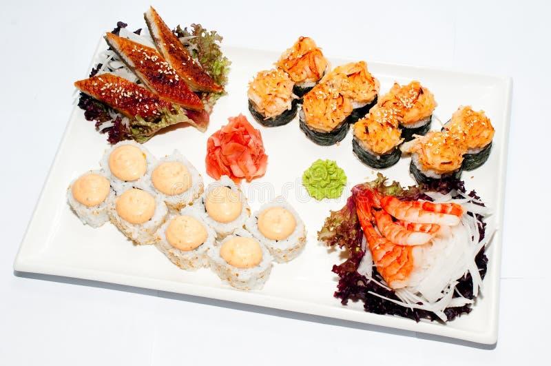 Sushi-role imagens de stock