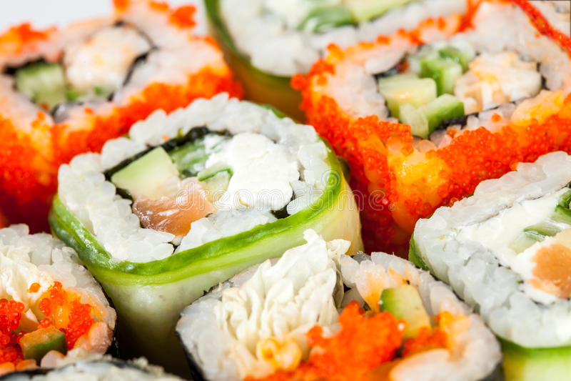 Download Sushi Roll stock photo. Image of delicacy, cooking, prawns - 28987858