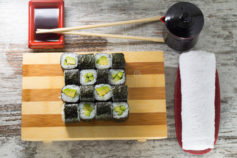 Download Sushi roll stock photo. Image of isolated, delicacy, cream - 38322834