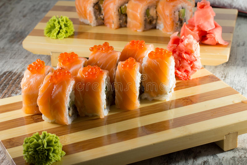 Download Sushi roll stock image. Image of food, delicious, japanese - 38322861