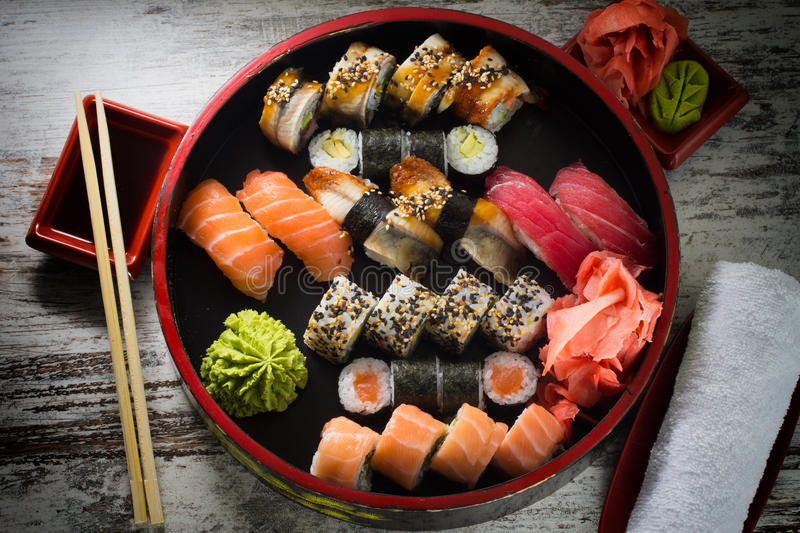 Download Sushi Roll Stock Photo - Image: 38322990