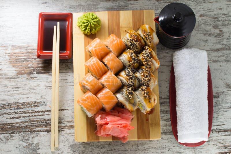 Download Sushi roll stock image. Image of philadelphia, cucumber - 38323001