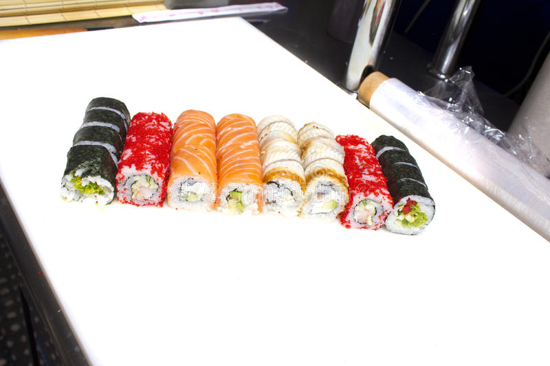 Download Sushi Roll Stock Photo - Image: 41482789