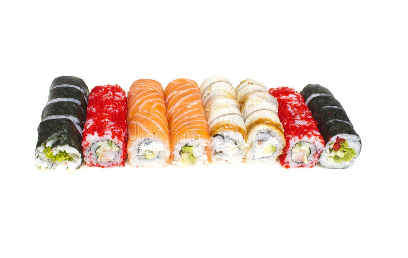 Download Sushi roll stock photo. Image of fresh, rice, cucumber - 41482782