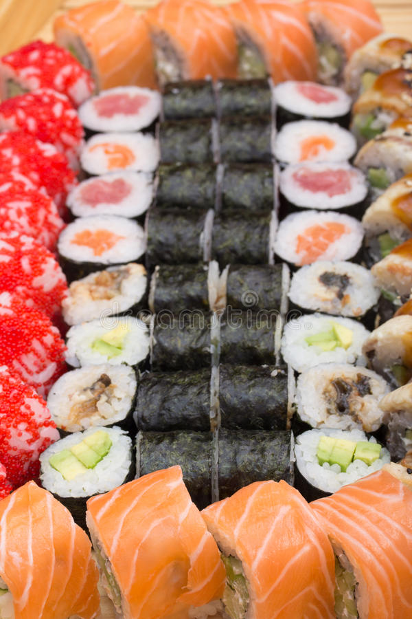 Download Sushi Roll Made Dish Royalty Free Stock Photo - Image: 34622465