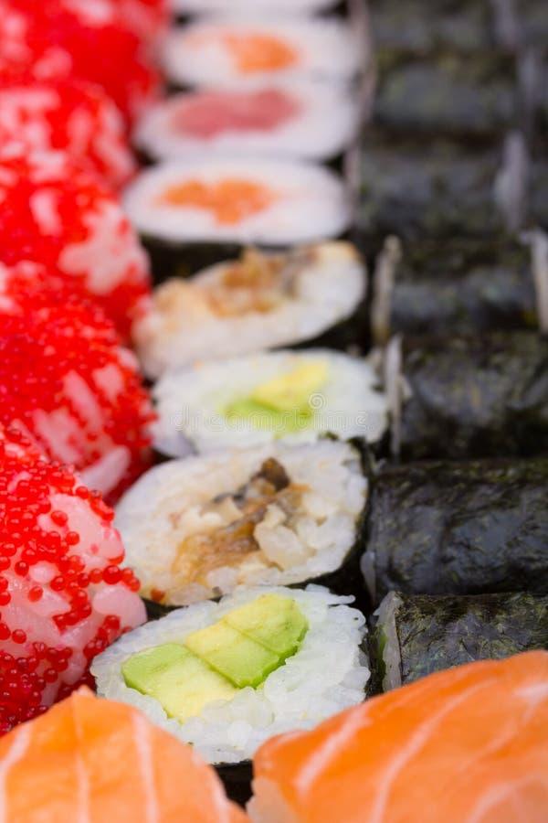 Sushi Roll Made Dish Royalty Free Stock Photo