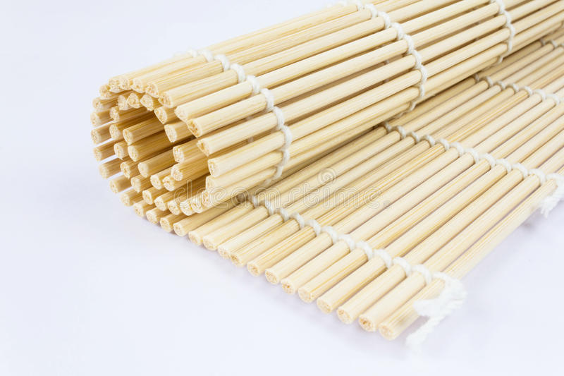 Download Sushi roll mat stock image. Image of rice, food, maki - 28419755