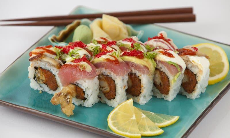 Sushi-Rolle stockfotografie