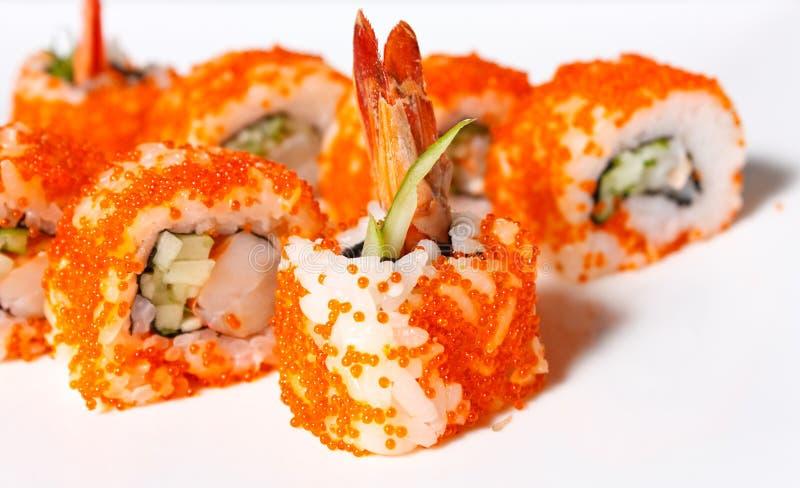 Sushi-Rolle lizenzfreie stockfotografie