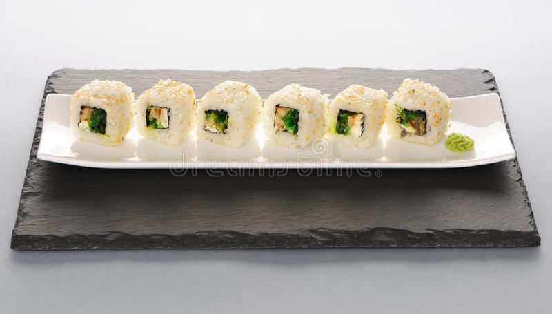 Download Sushi rolls stock photo. Image of eating, rice, asian - 26086724