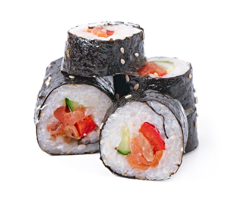 Download Sushi Rolls imagen de archivo. Imagen de crema, aguacate - 41916855