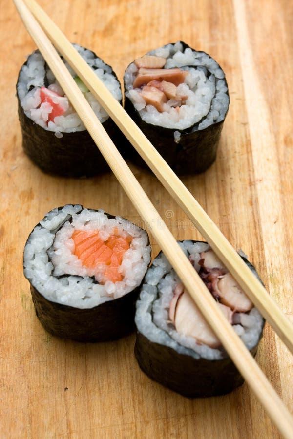 Download Sushi rolls stock image. Image of sticks, food, sushi - 5204199