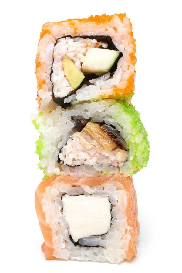 Sushi Rolls lizenzfreies stockfoto