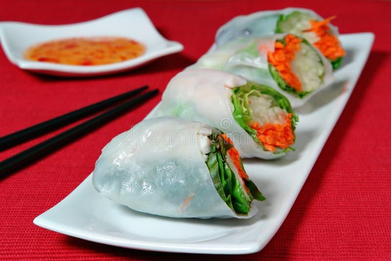 Sushi Rolls fotografia stock