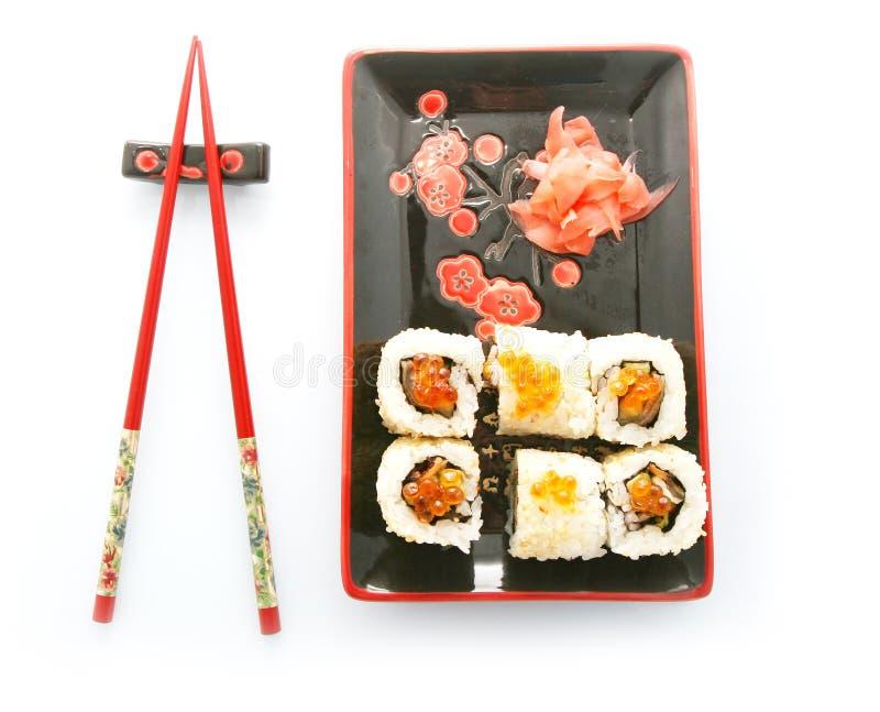 Download Sushi rolls stock image. Image of seafood, sashimi, rice - 9679137