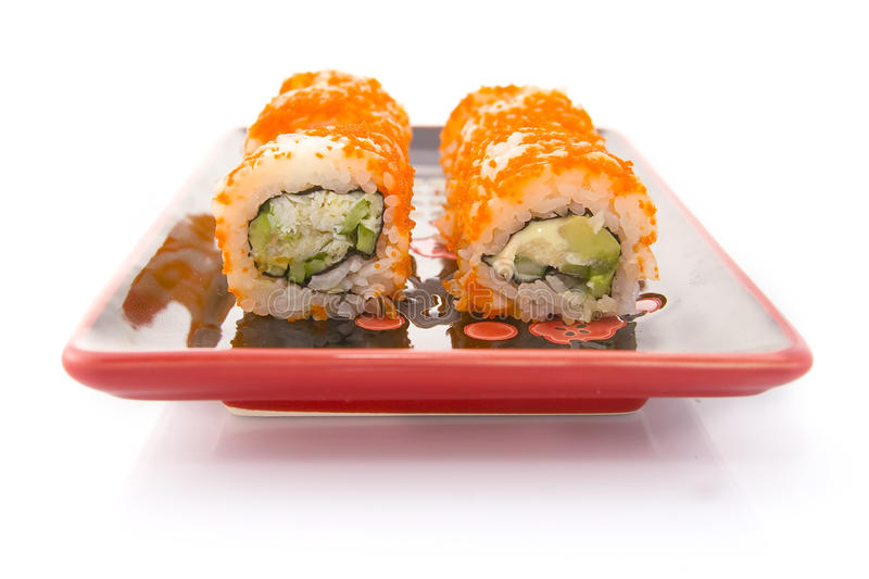 Download Sushi rolls stock photo. Image of object, traditional - 9703348