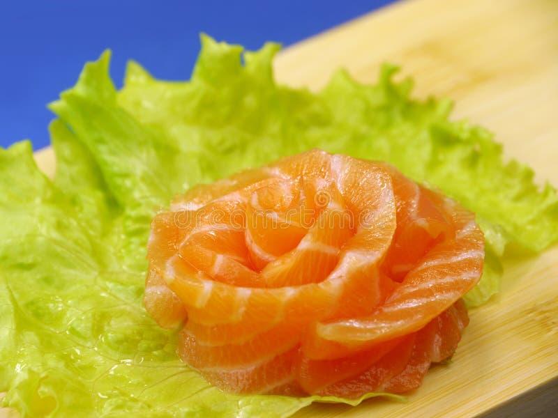 Download Sushi salmon stock image. Image of food, macro, orange - 23608219