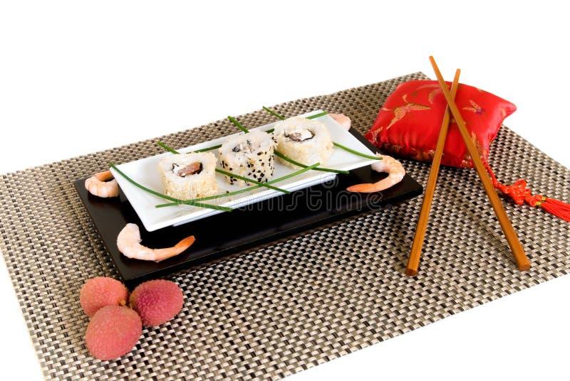 Sushi, sashimi fotografia stock libera da diritti