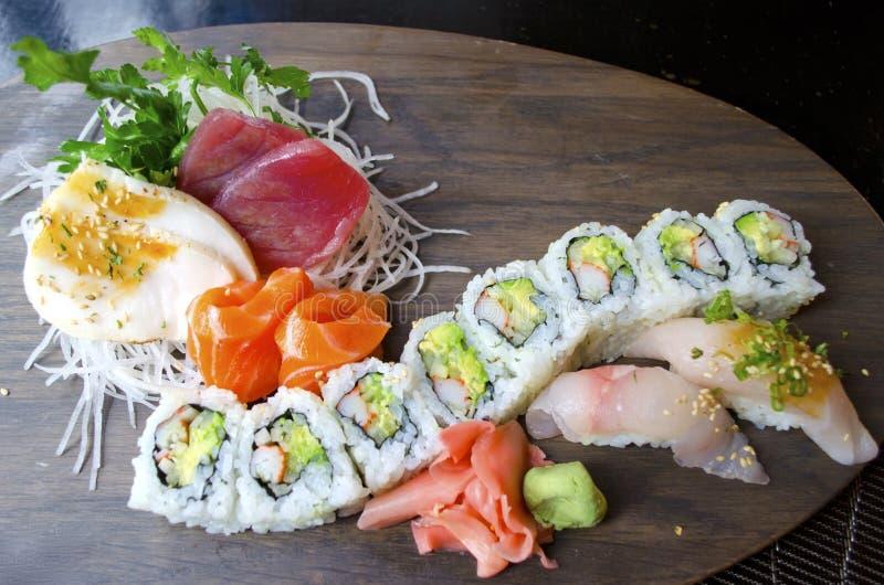 Sushi Sashimi royalty free stock photography