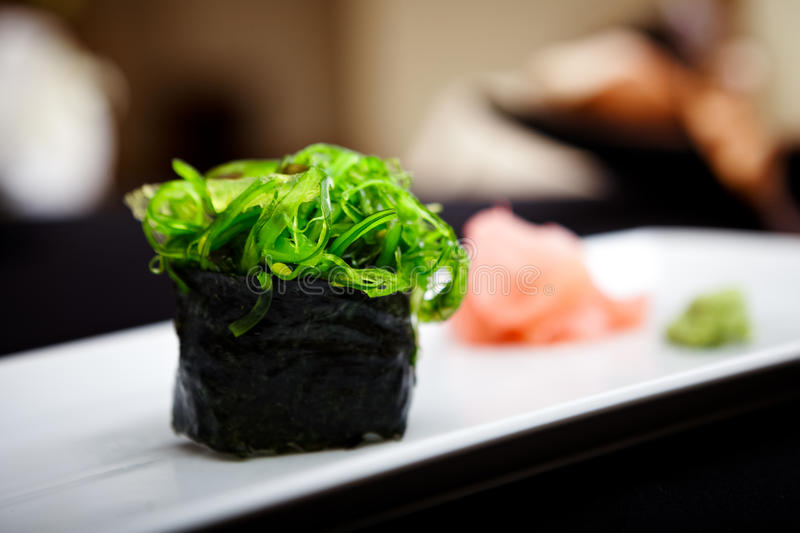 Download Sushi with seaweed stock photo. Image of meal, cuisine - 33935902