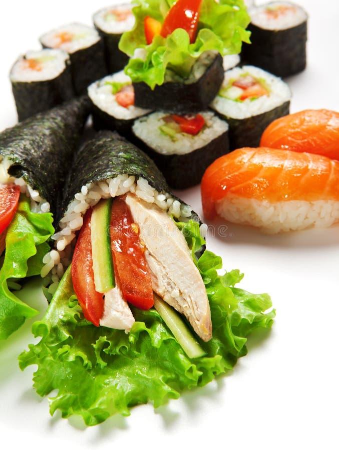 Sushi Set Royalty Free Stock Photos