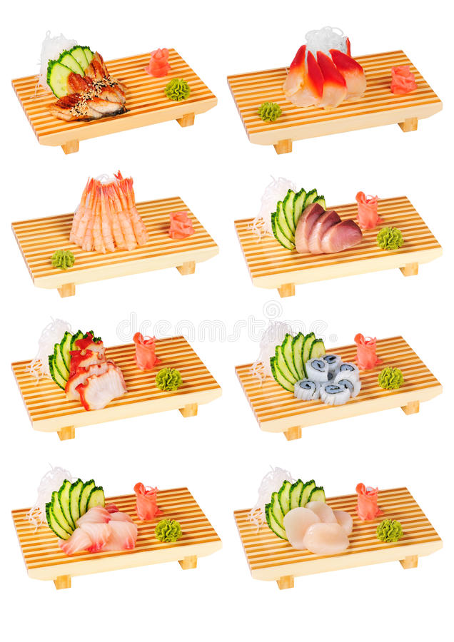 Free Sushi Set Royalty Free Stock Photography - 18142927
