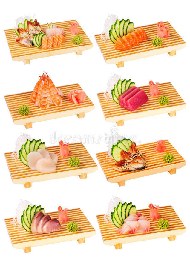 Free Sushi Set 2 Royalty Free Stock Photos - 18143028