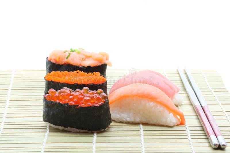 Download Sushi set stock image. Image of detail, fish, nikiri - 21823177
