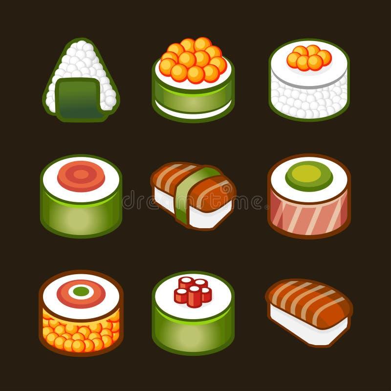 Download Sushi set - japan cousine stock vector. Image of japan - 31123954