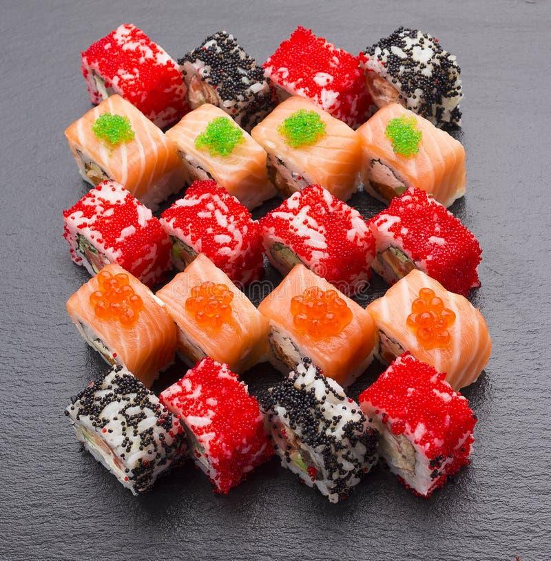 Sushi set. royalty free stock image