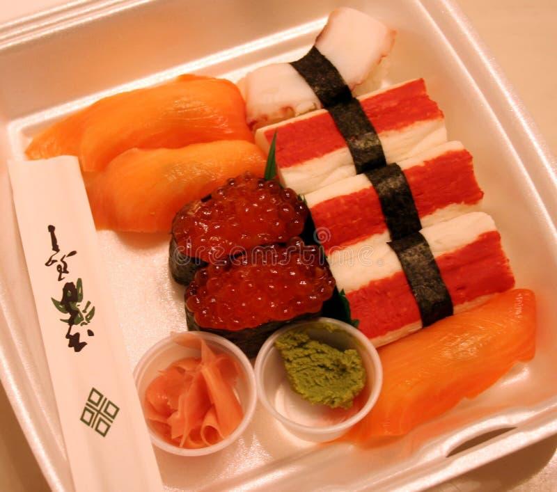 Sushi Take-out royalty free stock image