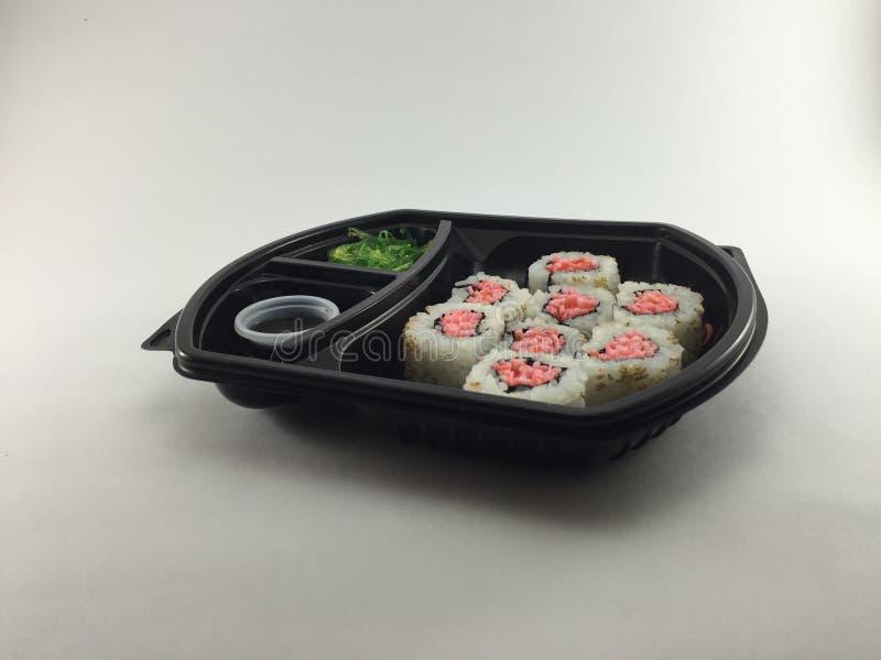 Sushi tnt Rolle lizenzfreie stockfotografie
