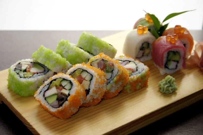 Sushi traditionelles japanisches foo lizenzfreies stockbild