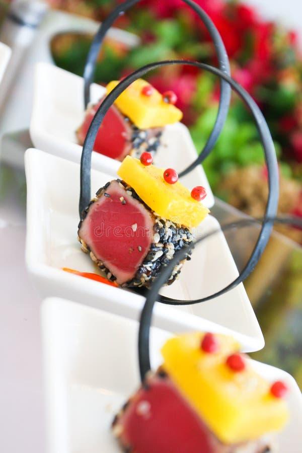 Sushi Tuna Wraps Royalty Free Stock Photo