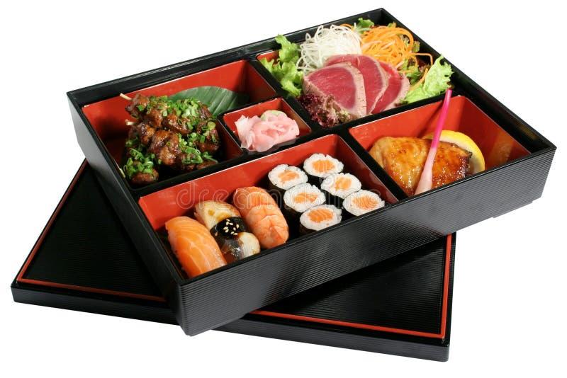 Sushi un conjunto fotografía de archivo