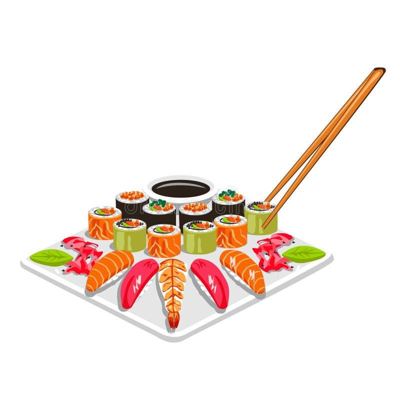 Sushi Vector illustration vector illustration