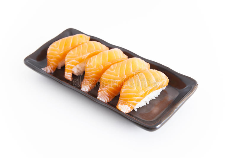 Download Sushi With White Background Stock Image - Image: 32860701