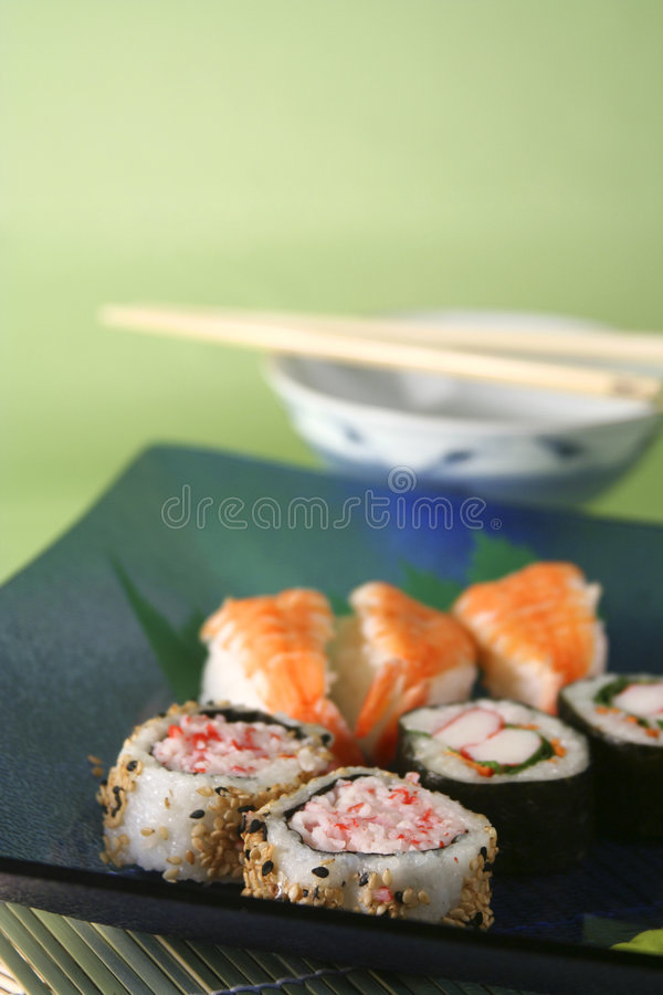 Sushi4one stockfotos