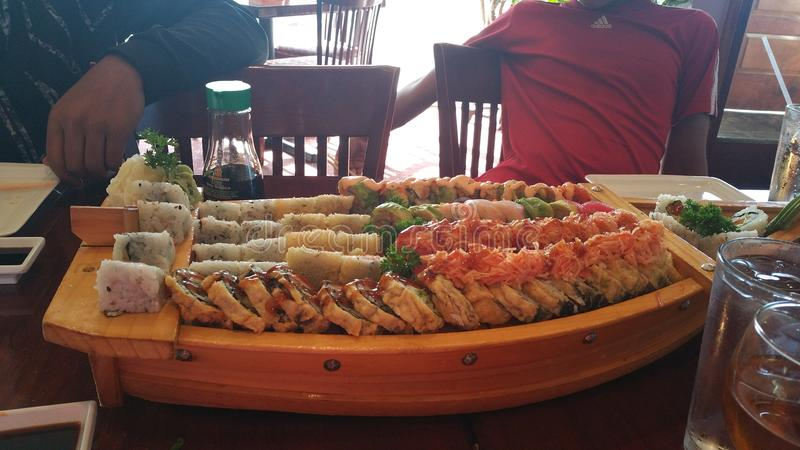 Sushifartyg arkivfoto