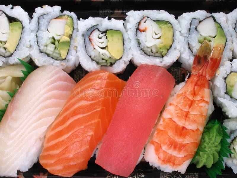 Sushizeit stockbilder
