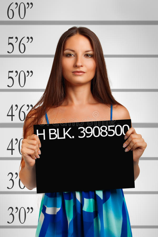 Suspect habituel images stock